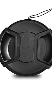 Dengpin para canon eos 800d lente 18-200mm tampão de lente de câmera de 72mm com uma corda de trela de suporte