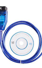 VAG KKL USB+For Fiat ECU Scan Diagnostic Comaptible Interface OBD2 Tool with Original FT232RL Chip