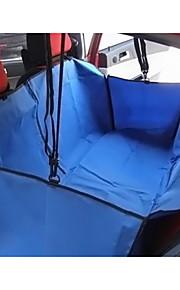 Кошка Собака Чехол для сидения автомобиля Животные Корзины Однотонный Компактность Складной Черный Серый Коричневый Красный Синий Для