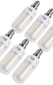 YouOKLight 12W 1000 lm E14 E26/E27 Ampoules Maïs LED T 48 diodes électroluminescentes SMD 5730 Décorative Blanc Chaud Blanc Froid AC