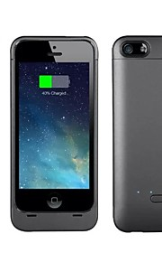 2200mAh eksternt bærbare backup batteri tilfældet for iphone5 / 5s / 5c (assorterede farver)