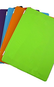 Case Kompatibilitás Apple Állvánnyal / Automatikus készenlét / ébresztés / Origami Héjtok Egyszínű PU bőr mert iPad 4/3/2