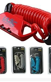 ULAC Cycling/Bike / Others Locks Zinc Alloy Convenient 1lock Black / Red / Blue / Transparent
