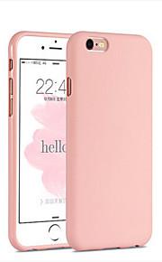 Kılıf Na Apple iPhone 6 iPhone 6 Plus Odporne na wstrząsy Czarne etui Solid Color Miękkie Silikonowy na iPhone 6s Plus iPhone 6s iPhone 6