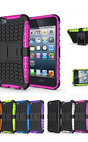 μαλακή σιλικόνη σκληρό πλαστικό περίπτωση κατόχου κέλυφος περίπτερο τηλέφωνο Funda για Apple iPod touch 5