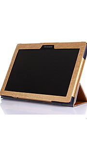 Case For Lenovo Full Body Cases Full Body Cases Solid Color Hard PU Leather for