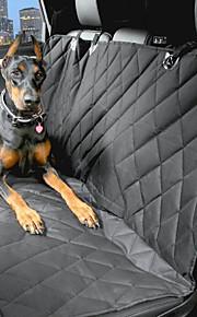 강아지 카 시트 커버 애완동물 캐리어 방수 휴대용 블랙
