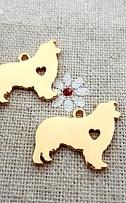 20pcs rough collie halskæde mindesmærke gave hund charm vedhæng til DIY smykker gør