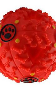 Brinquedos de Morder para Gatos Brinquedos de Morder para Cachorros rangido Alimentador Automático Borracha Para Cachorro Cachorrinho