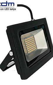 ZDM 60W 3518x288pcs 5800lm vanntett IP68 ultra tynn utelys støpte lys varm hvit / kald hvit (ac170-265v)