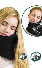 Travesseiro de Viagem Portátil Dobrável Descanso em Viagens Lavar à Máquina Confortável Alivia pescoço e dores de ombros Ajustável Apoio