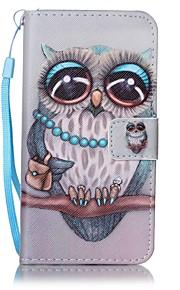 Custodia Per Samsung Galaxy J7 Prime J5 Prime A portafoglio Porta-carte di credito Con supporto Con chiusura magnetica Fantasia/disegno