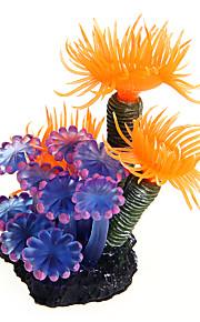 Rybki Dekoracja akwarium Zdobienia / Roślina wodna Dekoracja Plastik