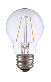 E26 LED-glødepærer A17 2 leds COB Mulighet for demping Varm hvit 200lm 2700K AC 110-130V