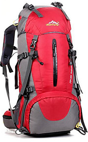 40 L Hiking Backpack / Rucksack - Waterproof, Breathable, Shockproof Outdoor Camping / Hiking, Climbing, Leisure Sports Oxford Orange, Red, Royal Blue