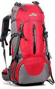 حقائب ظهر حقيبة الظهر 40 L - مقاوم للماء متنفس مقاومة الهزة في الهواء الطلق التخييم والتنزه التسلق رياضة وترفيه أكسفورد برتقالي أحمر أزرق البحرية