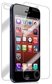 Защитная плёнка для экрана Apple для iPhone 6s iPhone 6 iPhone SE/5s 2 штs Защитная пленка для экрана и задней панели