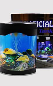 Baojie aquarium jellyfish lampe neon leuchten usb mini aquarium