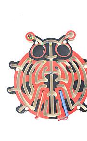 Brinquedo Educativo Quebra-Cabeças de Madeira Jogos de Labirinto & Lógica Labirinto Brinquedos Crianças 1 Peças