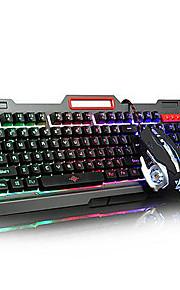 usb multi color backlit gaming micro denifition 1200-1600-2400-3200 muis gaming ergonomische toetsenbord muis kit