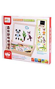 Quebra-Cabeça Brinquedo Educativo Brinquedos Animais Crianças 1 Peças