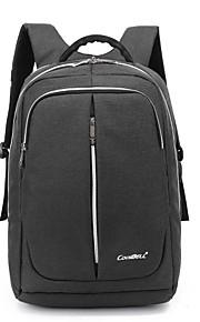 15,6 inch laptop waterdichte nylon doek met usb laadpoort notebook tas rugzak voor macbook / dell / hp / lenovo / sony / acer / oppervlak