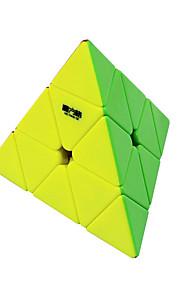 Rubiks terning QI YI QIMING 174 Pyraminx Let Glidende Speedcube Magiske terninger Puslespil Terning Stickerless Gave Unisex