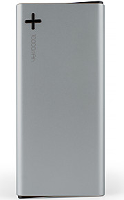 emie® 10000mAh LED Power Bank 5V 2.1A External  Multi-Output with Cable