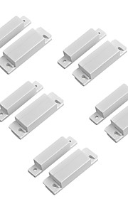 5PCS/Lot Magnetic Contact Reed Switch Wired Door Window Open Alarm Sensor Switches Normal Closed