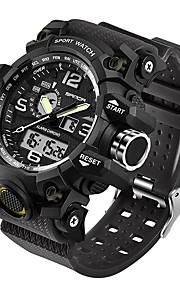SANDA Homens Digital Relógio de Pulso Relógio inteligente Relógio Militar Relógio Esportivo Japanês Impermeável LED Noctilucente