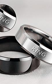 Spersonalizowane Prezent-Rings--Stal nierdzewna--