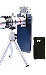 Lingwei 18X Zoom Samsung Camera Telephoto Lens Wide Angle Lens / Tripod / Phone Holder / Hard Case / Bag / Cleaning Cloth (Samsung S7/S7 EDG)