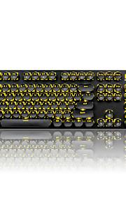 Αφαίρεση κλειδιών για το μηχανικό πληκτρολόγιο gamimg πληκτρολόγιο steampunk keycaps 104 πλήκτρα