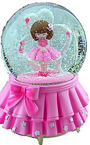 Bolas Caixa de música Brinquedos Redonda Peças Feminino Para Meninas Aniversário Dom