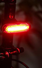 바 엔드 조명 / 자전거 후미등 / 안전 등 LED 자전거 라이트 - 싸이클링 방수, 충전식, 작은 사이즈 리튬 배터리 50 lm 배터리 캠핑 / 등산 / 동굴탐험 / 일상용 / 사이클링 - Wheel up / ABS