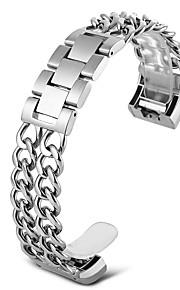 Carga de fitbit 2 pulseira de relógio inteligente - prata