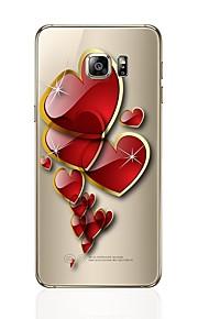 Custodia Per Samsung Galaxy S8 Plus S8 Transparente Fantasia/disegno Custodia posteriore Con cuori Morbido TPU per S8 S8 Plus S7 edge S7