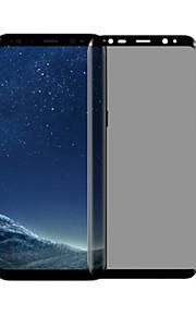 Vetro temperato Proteggi Schermo per Samsung Galaxy S8 Plus Proteggi-schermo frontale Durezza 9H Anti-impronte Anti-spia Estremità