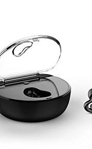 x7 i øre trådløse hovedtelefoner dynamisk plastik kørsel øretelefon mini støjisolerende med opladningsboks headset
