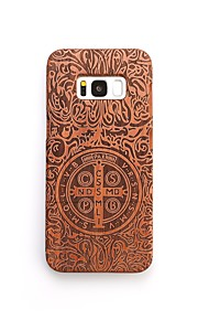 For Case Cover Shockproof Pattern Back Cover Case Punk Hard Wooden for Samsung Galaxy S8 Plus S8 S7 edge S7 S6 edge plus S6 edge S6 S6