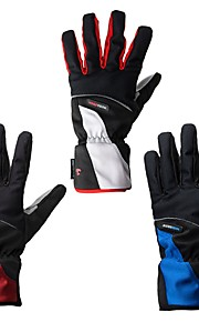 Sports Gloves Men's Women's Cycling Gloves Winter Bike Gloves Windproof Full-finger Gloves Lycra Winter Gloves Cycling Gloves/Bike Gloves