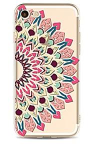 케이스 제품 Apple iPhone X iPhone 8 iPhone 8 Plus 울트라 씬 투명 패턴 뒷면 커버 만다라 소프트 TPU 용 iPhone X iPhone 8 Plus iPhone 8 아이폰 7 플러스 아이폰 (7) iPhone 6s