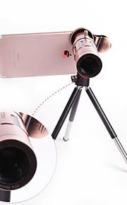 orsda® 20x ultra beast magnifier zoom manual foco telefoto telescópio telefone câmera lente kit com high-end tripé para iphone