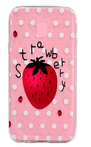 Funda Para Samsung Galaxy Transparente Diseños Cubierta Trasera Brillante Fruta Suave TPU para J7 (2016) J7 (2017) J5 (2016) J5 (2017) J3