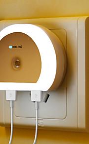 1шт Настенный светильник С портом USB прикроватный От электросети Белый