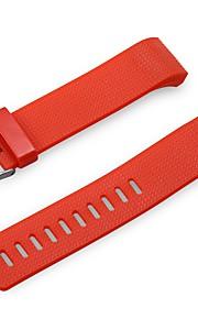 Borracha Pulseiras de Relógio Alça Vermelho 19cm / 7.48 Polegadas 2.2cm / 0.9 Polegadas