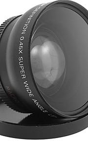 lente de ângulo macro largo 52 mm 0,45x para câmera digital 1080p camcorder hdv-c2