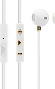 JTX S807 I øret Ledning Hovedtelefoner Dynamisk Mobiltelefon øretelefon Støj-isolering Med Mikrofon Headset