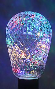 1pc ywxlight® e27 40led 8.0 4 farger ledet lysstrengpære baller til julen fe ferie AC 85-265v