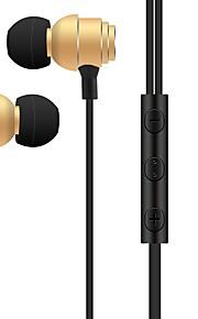 s810 i ørekablet hovedtelefoner dynamisk plast mobiltelefon hovedtelefon støjisolerende med mikrofon headset